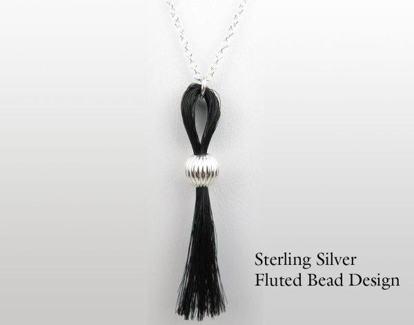 Gemosi Horse Hair Tassle Necklace