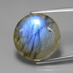 195 Carat Round 2020mm Natural And Untreated Labradorite