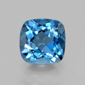 Topaz 3 Carat Cushion From Brazil Gemstone