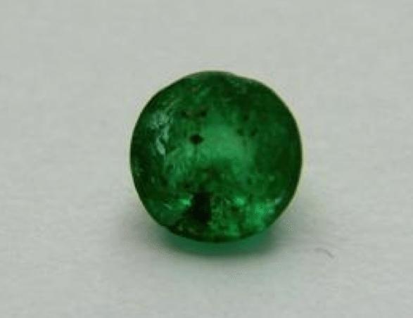 027 Ct Natural Green Columbian Emerald Loose Gemstone