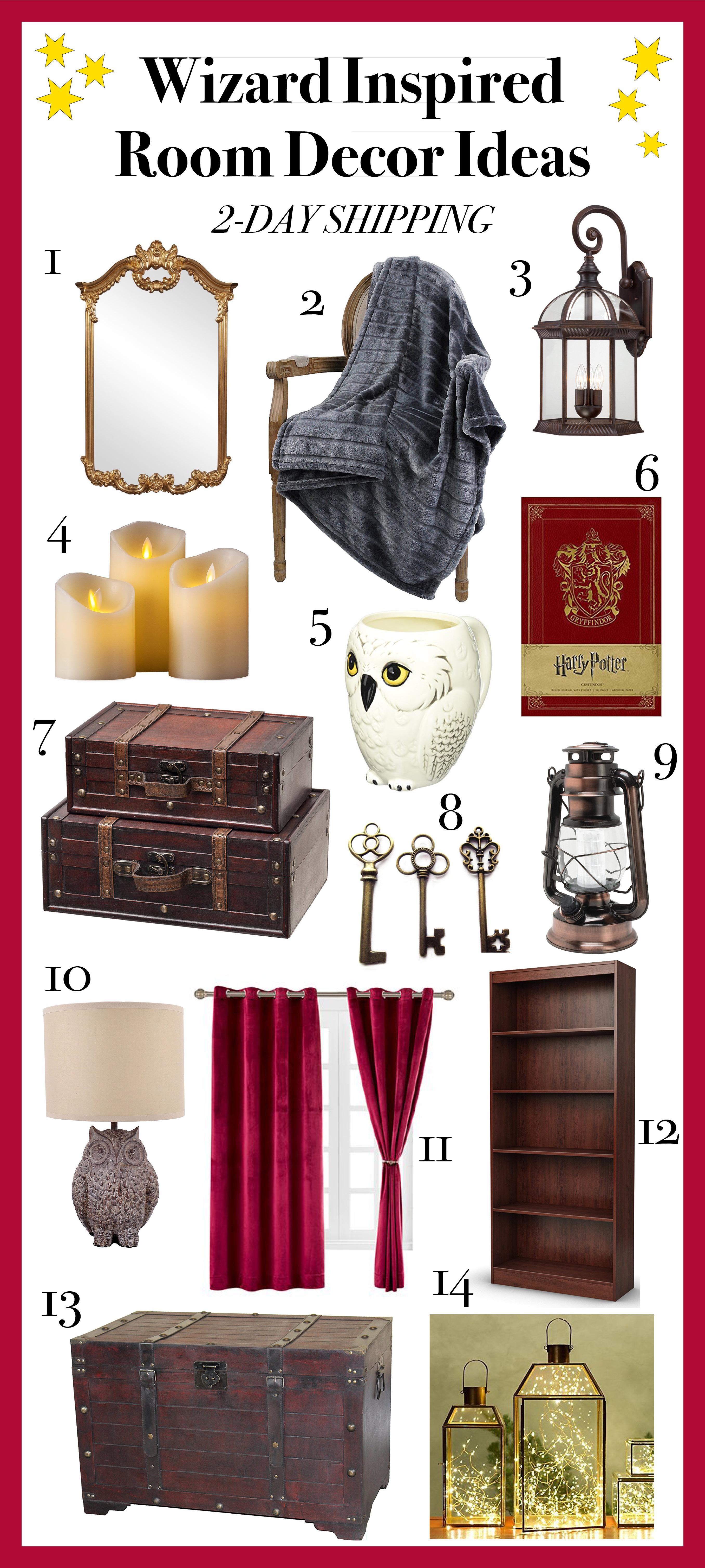 Harry Potter Room Decor Ideas Wizard Inspired Bedroom Ideas