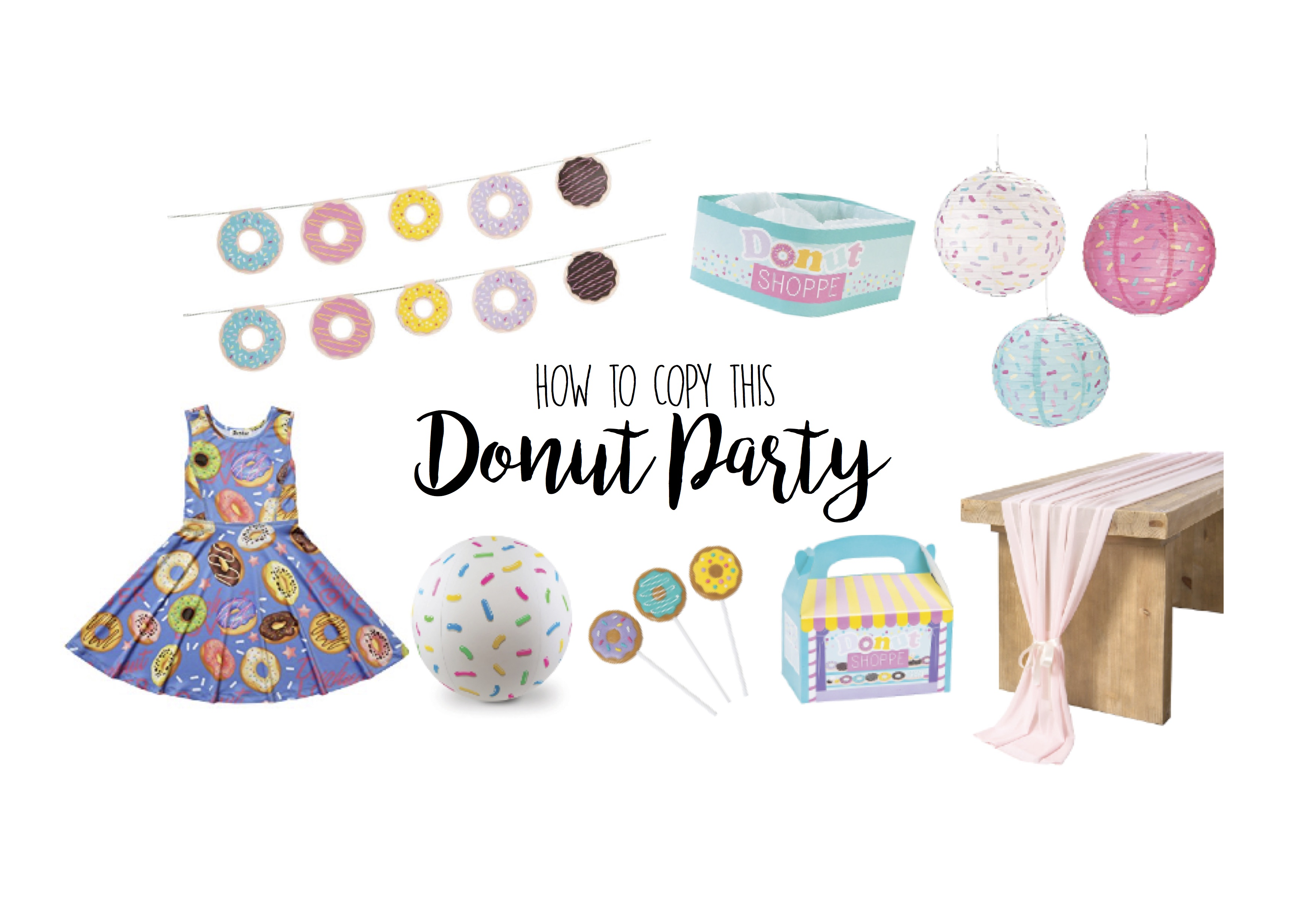 Donut Birthday Party - Sweetest Ideas and Decor