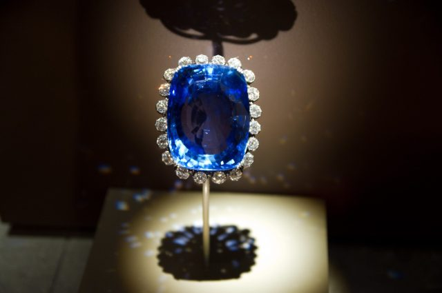 423 carat Logan Blue Sapphire