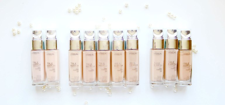 Loreal True Match natural finish foundation