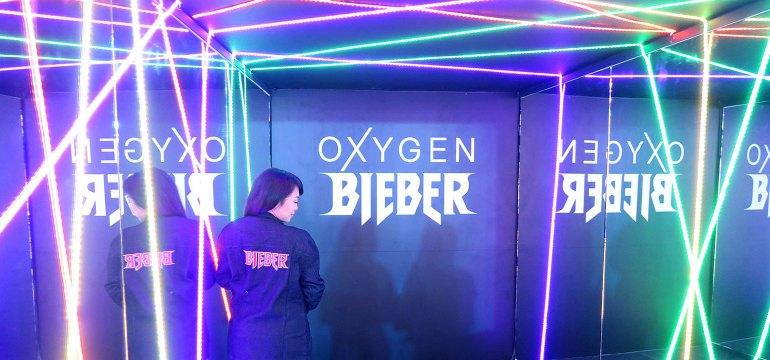 OxygenXBieber Collection Launch - She Sings Beauty by Gen-zel