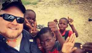 Haitian Children with Gen1 Staff