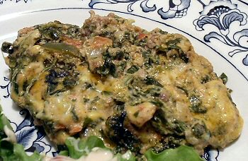 Mexican Spinach Amp Hamburger Casserole Linda S Low Carb