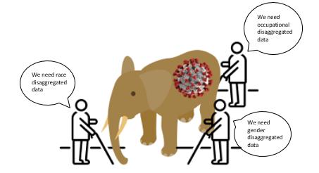 Elephant and blind men