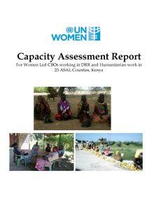 Thumbnail Of Final Report UN Women – Women Led CBOs In 23 ASAL Counties