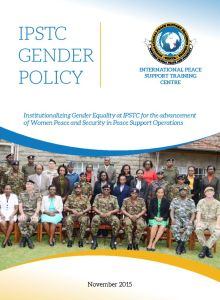 Thumbnail Of IPSTC Gender Policy 2015