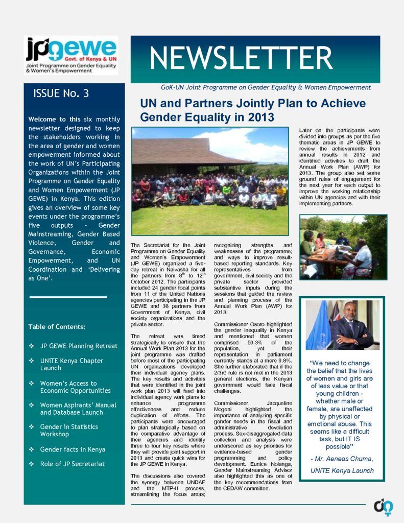 thumbnail of JP GEWE Newsletter 2012