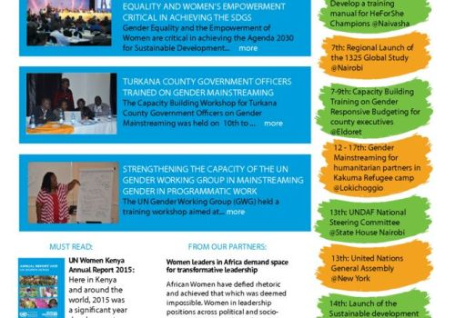 Thumbnail Of UN Women Kenya News_Issue 010