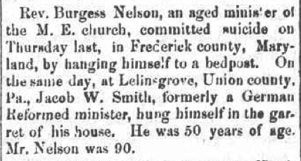 The Religious Recorder, Syracuse, New York, April 15, 1852.