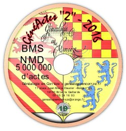 CD généactes2-version 2016
