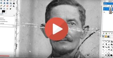 Vidéo : Restaurez vos photographies anciennes avec Gimp