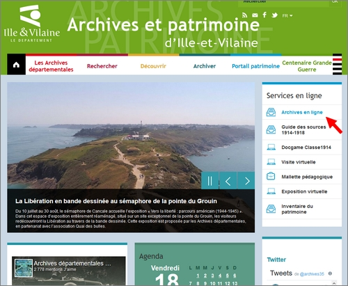 Lagenealogie ca coule de sources Archives
