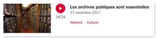 Actualité genealogie novembre 2017 - La marche de l histoire