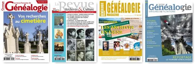 Cadeaux genealogiques - Magazines