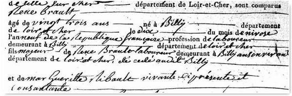 Genealogistes Pourquoi exploiter Les Actes_Acte Partie2a