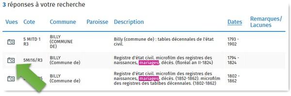 Genealogistes Utilisez Les Actes_Archives 41 Registre de mariage