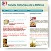 Actualité genealogie Juillet 2018 - Remise en route du site du Service historique de la Défense