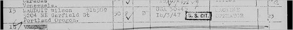 Les listes de passagers de Ellis Island accessibles gratuitement sur FamilySearch - Gabrielle Mauduit