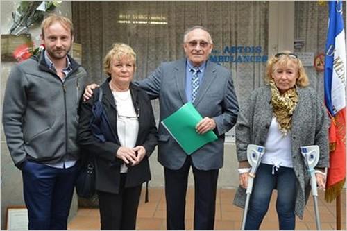 René Wallard - Famille