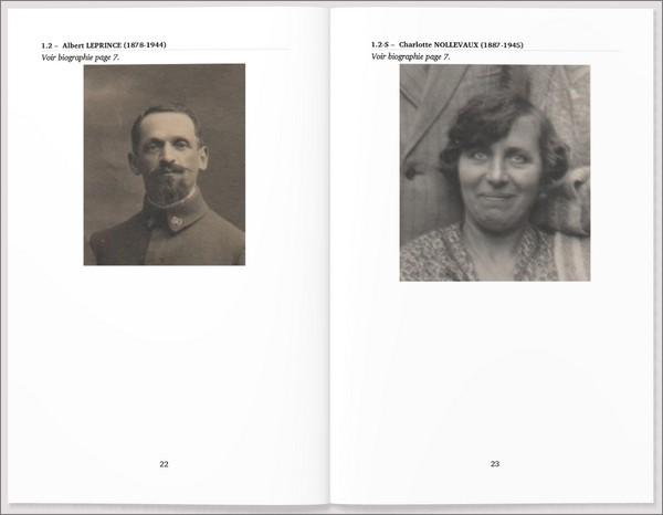 Geneanet - Livre imprimable - Portraits