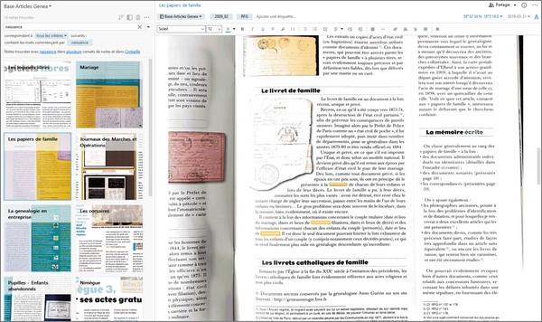 Numérisez et organisez les articles de vos magazines de généalogie - Recherche