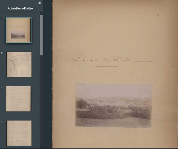 Pourquoi consulter les sites des archives départementales - Monographies communales
