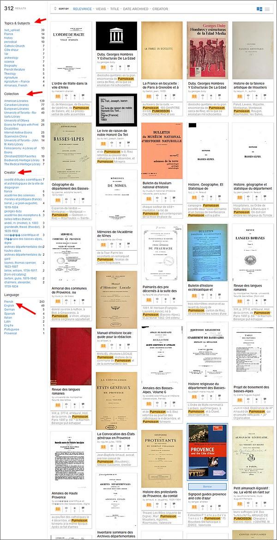 Votre généalogie avec Archive.org-Resultat