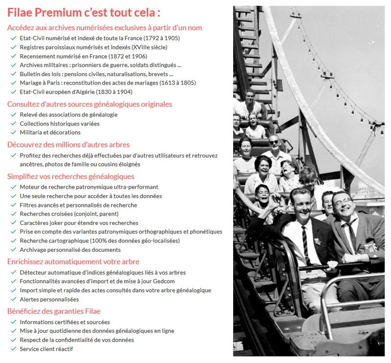 Filae gratuit ou Filae premium - Premium