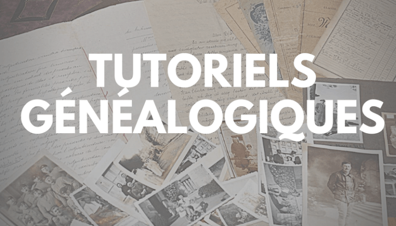 Tutotiels Genealogiques en video