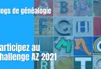 Blogs de généalogie - Participez au challenge AZ