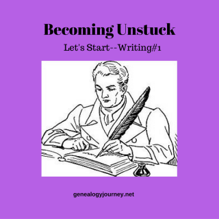 Becoming Unstuck. Let's Start-Writing
