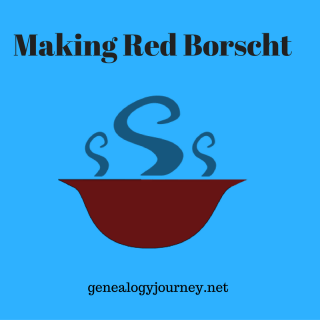 Making Red Borscht