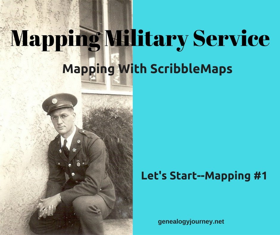mapping military service