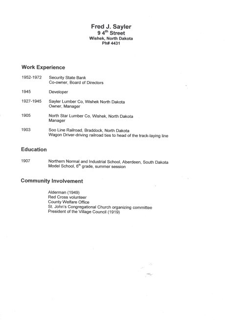 Your Ancestor\'s Resume - Genealogy Journey