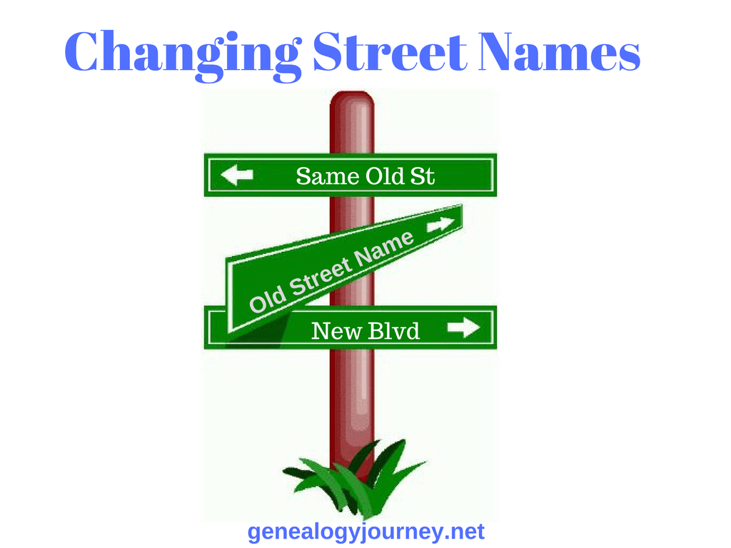 Changing Street Names