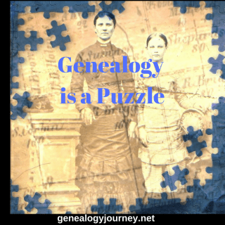 Genealogy Is A Puzzle