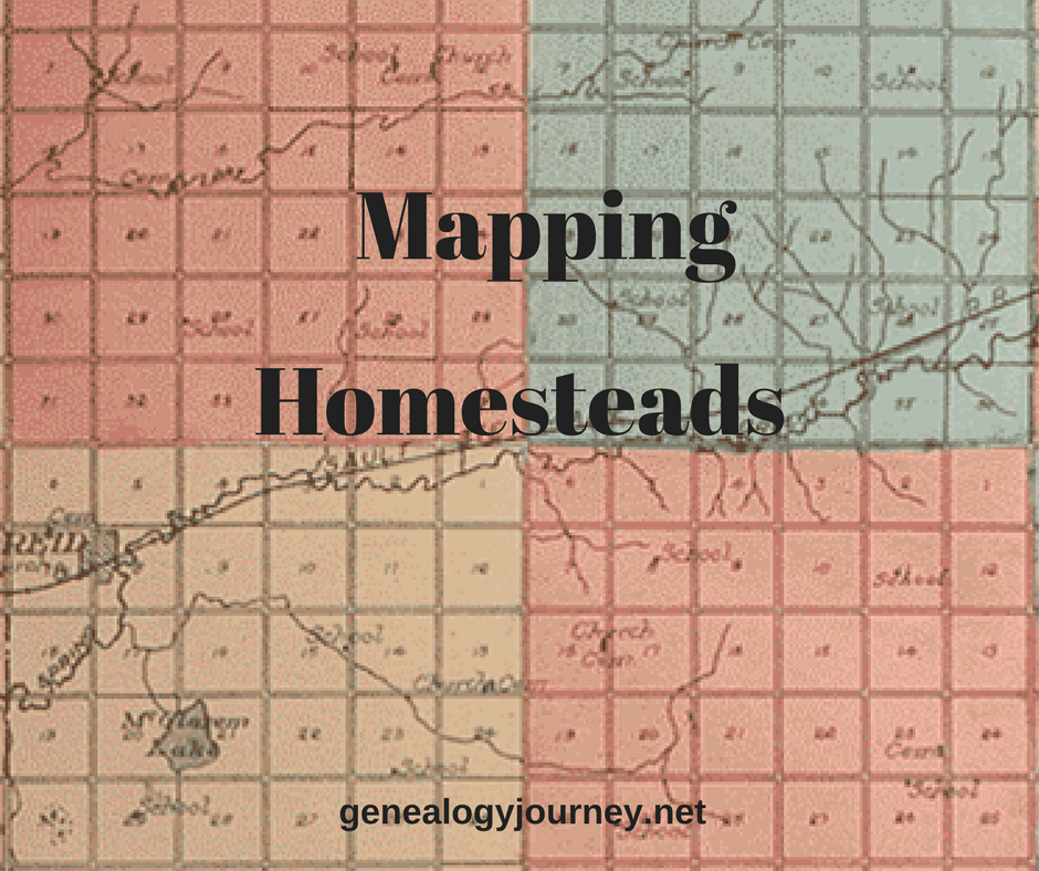 Mapping homesteads