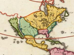 North America, Homann 1719