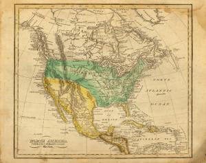 Childrens School Maps Genealogy Journey - Us map 1821