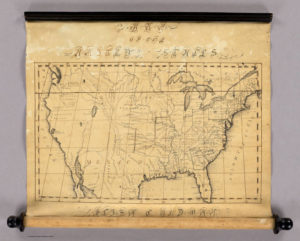 United States map 1829