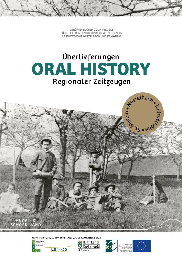 Cover der Bildbandes Überlieferungen regionaler Zeitzeugen - Oral History