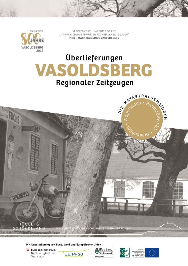 Cover Bildband Überlieferungen aus Vasoldsberg Regionaler Zeitzeugen