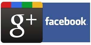 ¿Cuál es el favorito de la gente para hacer negocios, Facebook o Google Plus?