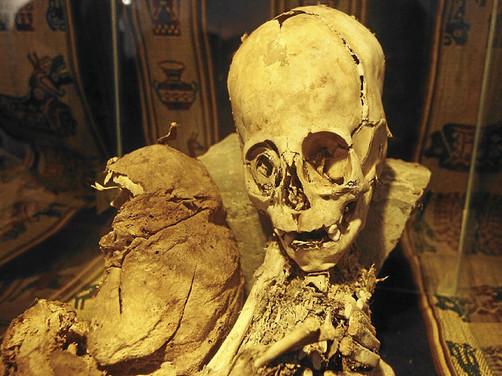 Resultado de imagen de momia de origen extraterrestre