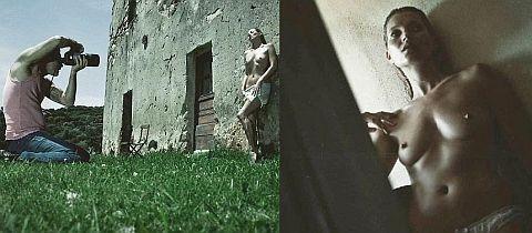 Kate Moss posó desnuda para revista Pirelli