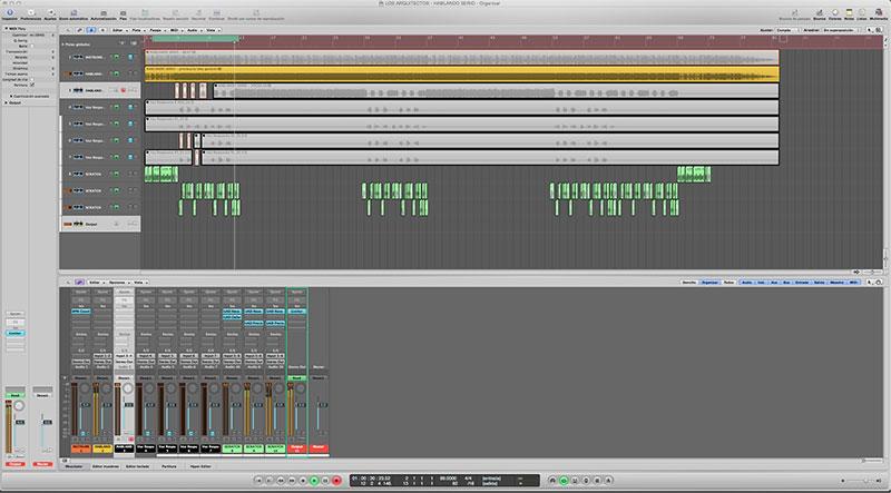 ¿Cómo se realiza y en qué consiste el proceso de grabación del scratch para una obra musical?